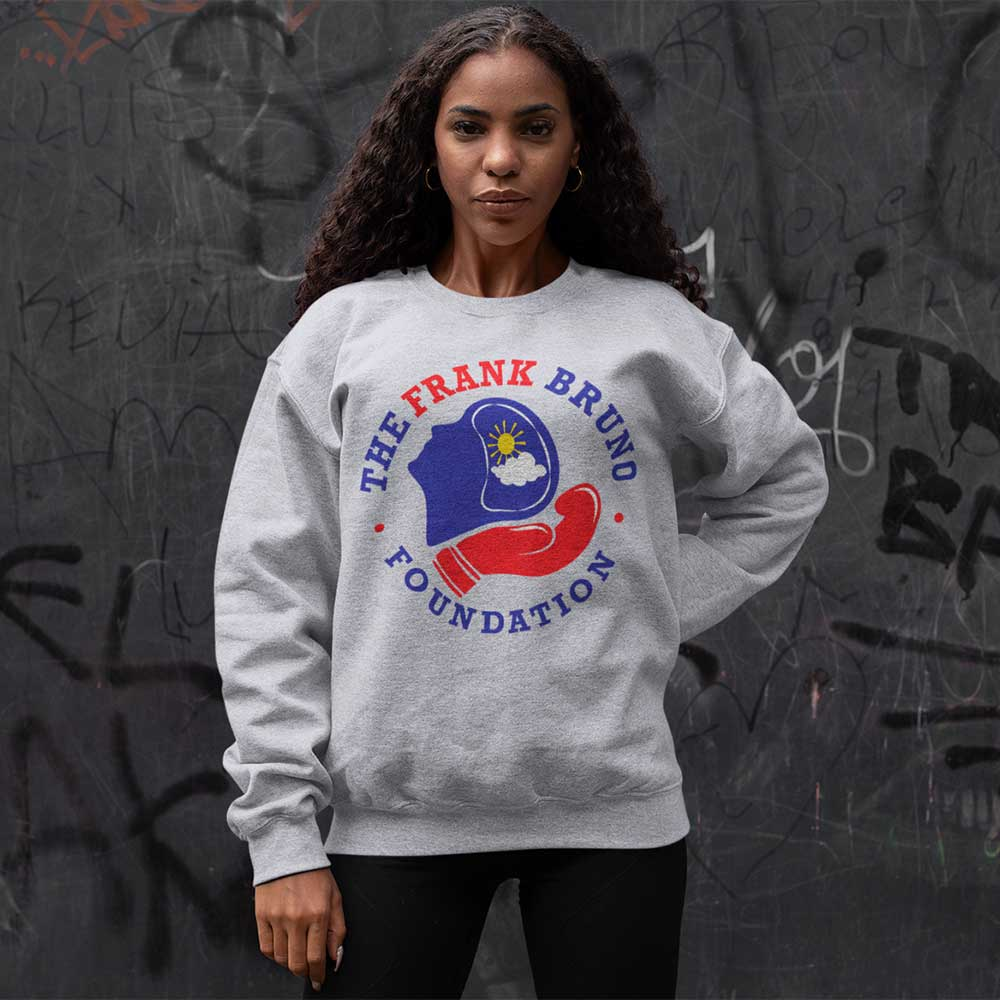Frank Bruno Foundation Circle Logo Print Sweatshirt_4