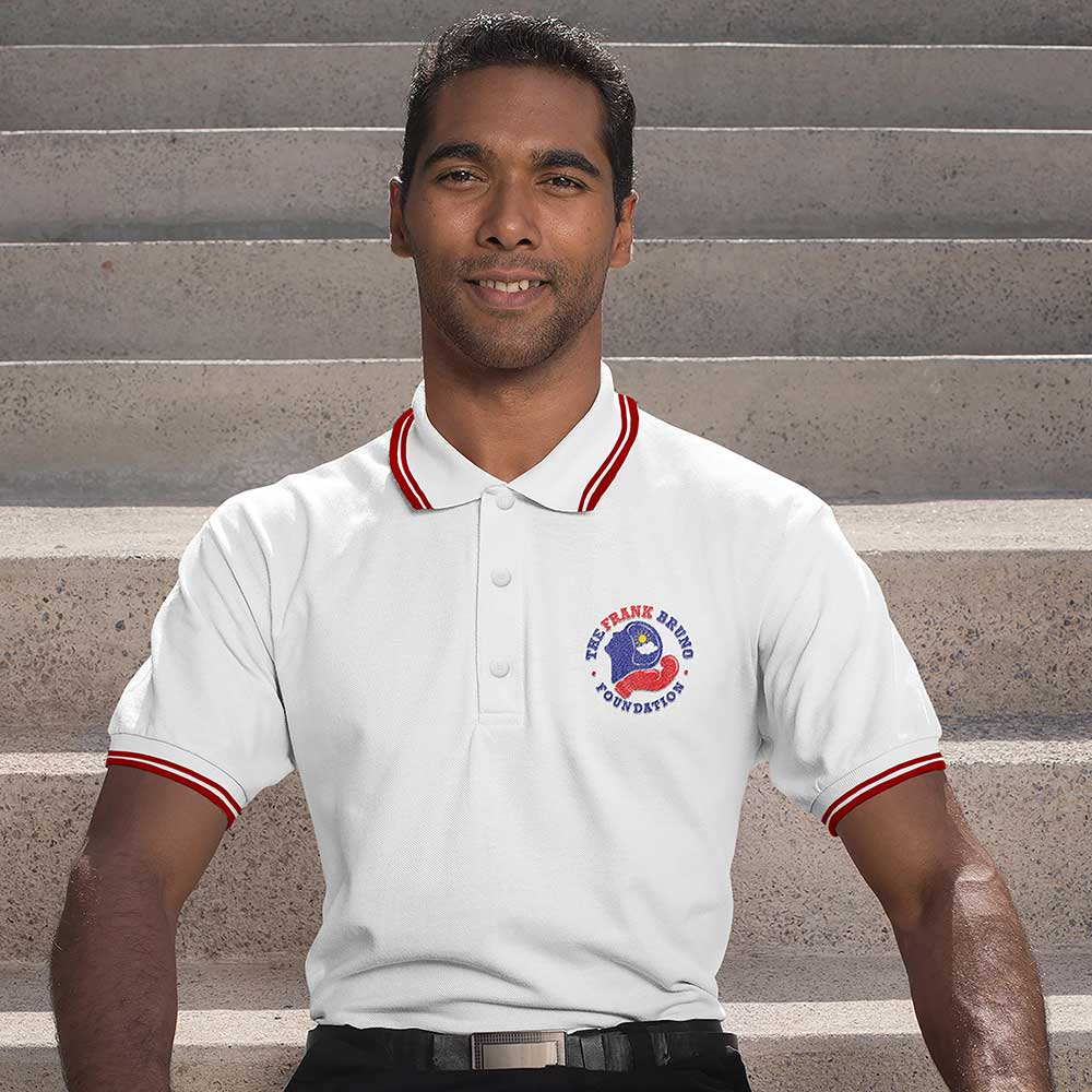 Frank Bruno Foundation Pocket Logo Polo Shirt_1